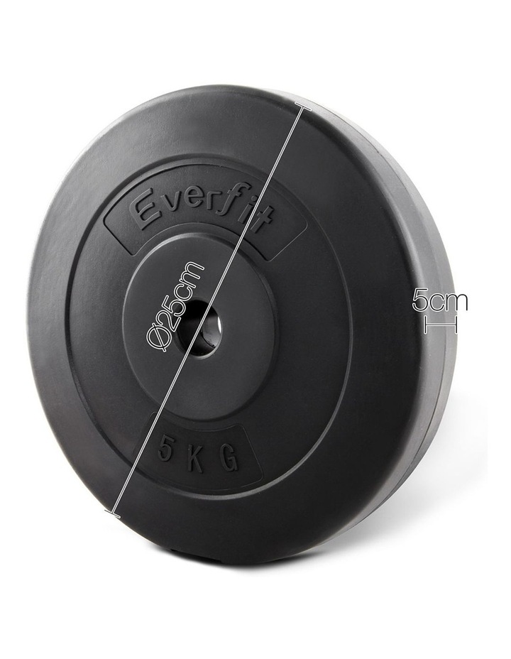 Home Gym Weight Plate 2 x 5KG image 2