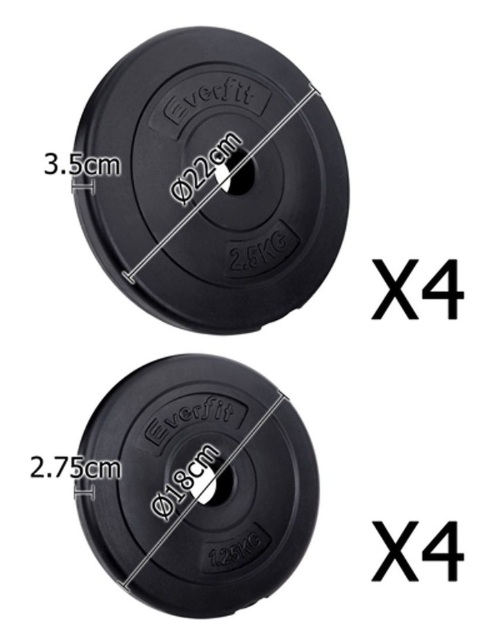 Fitness Gym Exercise Dumbbell Set 20kg image 3