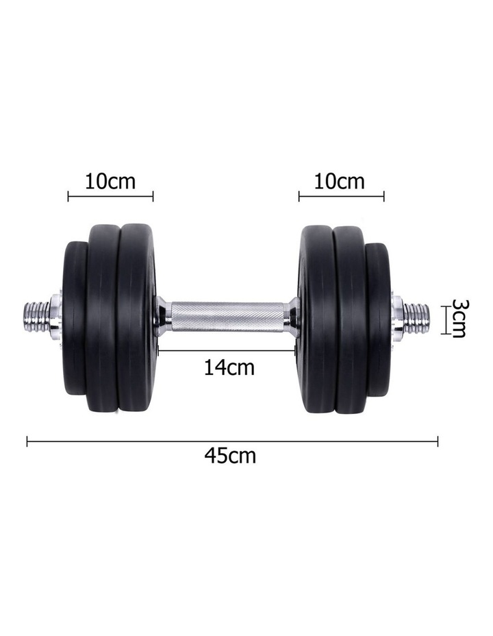 Fitness Gym Exercise Dumbbell Set 30kg image 2
