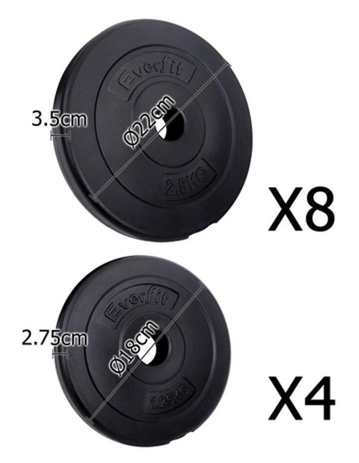 Fitness Gym Exercise Dumbbell Set 30kg image 3