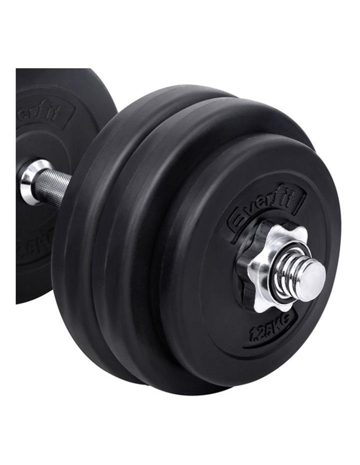 Fitness Gym Exercise Dumbbell Set 30kg image 6