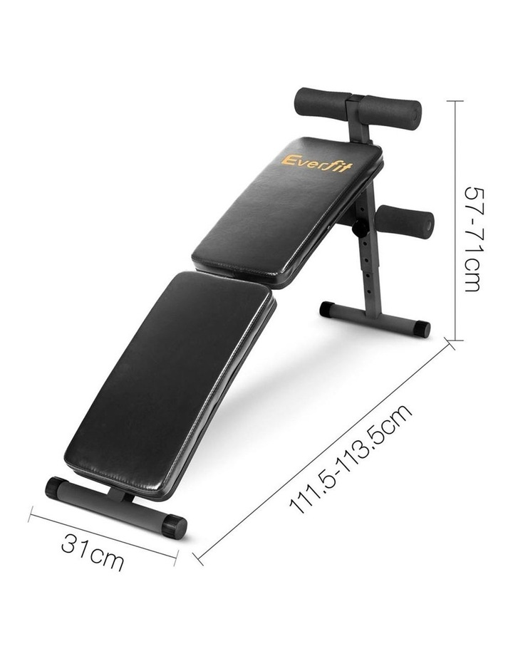 Home Exercise Fitness Adjustable Sit Up Bench image 2