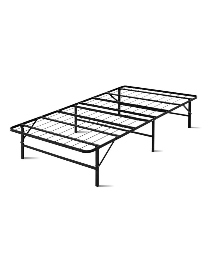 Foldable King Single Metal Bed Frame image 1