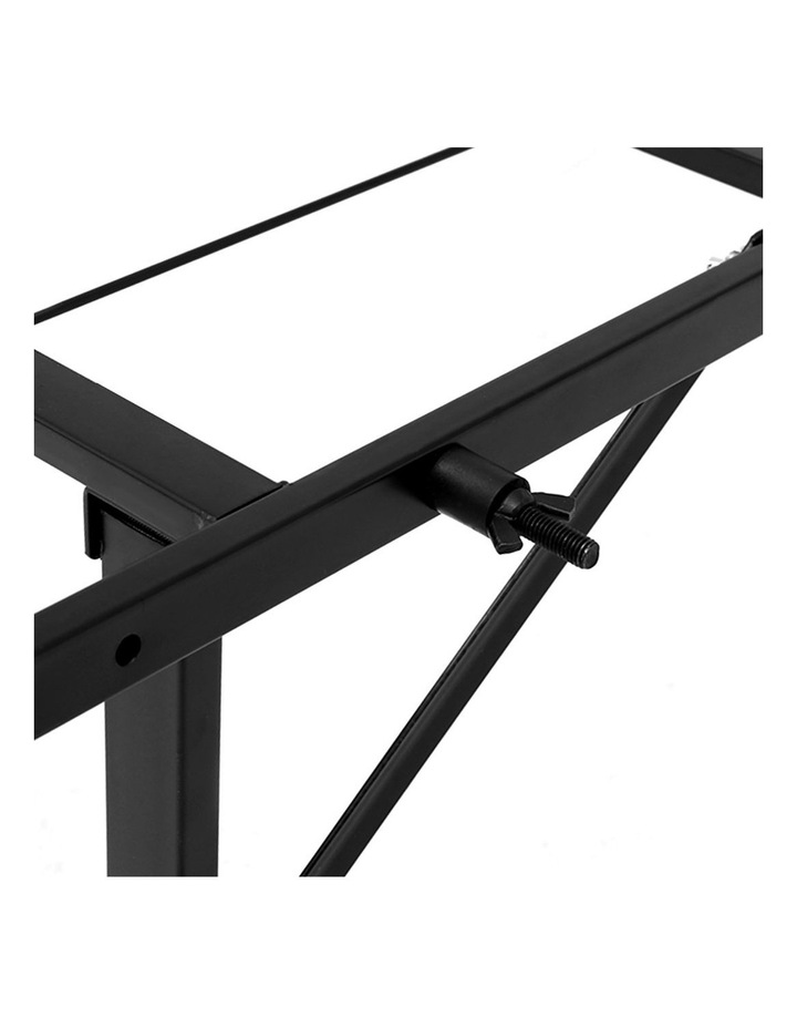 Foldable King Single Metal Bed Frame image 3