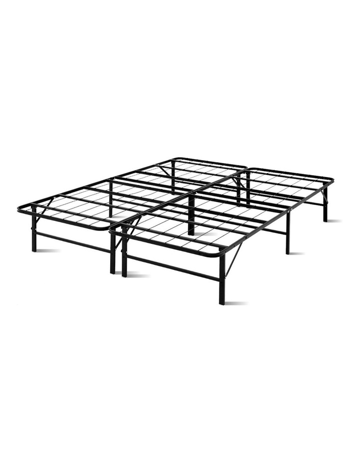 Foldable Queen Metal Bed Frame image 1