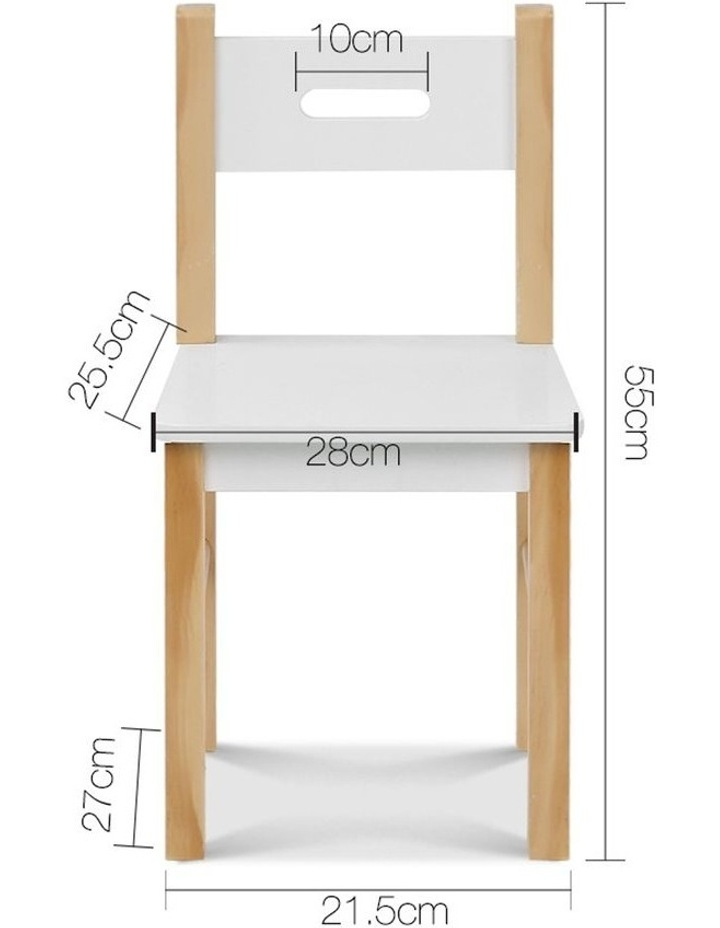 Amazing Artiss Kids Table And Chair Storage Desk Theyellowbook Wood Chair Design Ideas Theyellowbookinfo