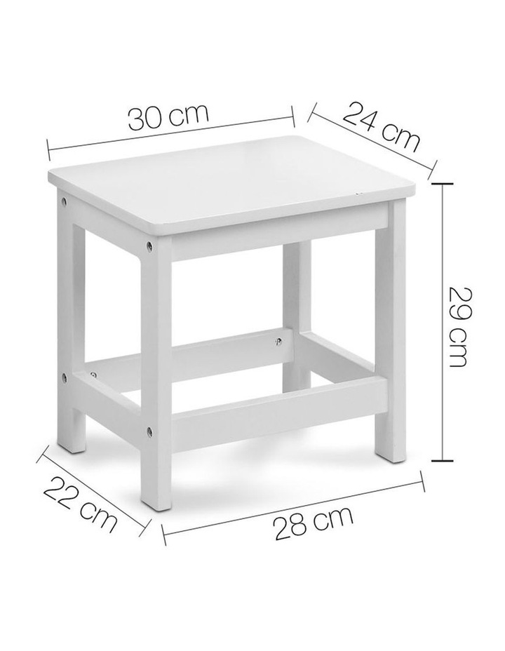 Keezi Kids Table and Chairs Set Children Drawing Writing Desk Storage Toys Play image 3