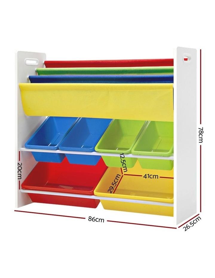 Kids Bookshelf Toy Storage Box image 2