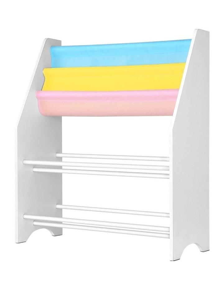 Artiss Kids Bookshelf Toy Storage Organizer Bookcase 2 Tiers Display Shelf Rack image 3