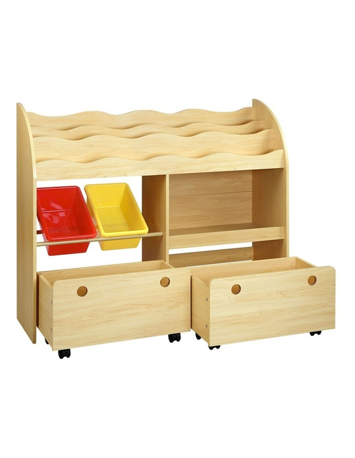 Kids Bookshelf Toy Storage Box image 1