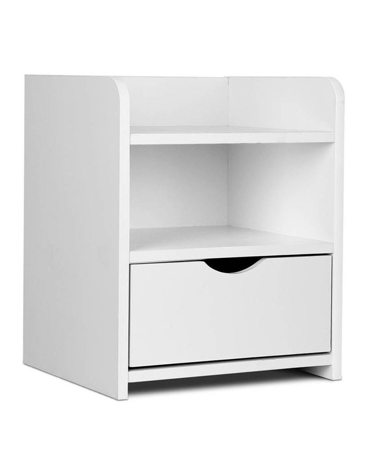 Artiss Bedside Table Drawer - White image 1