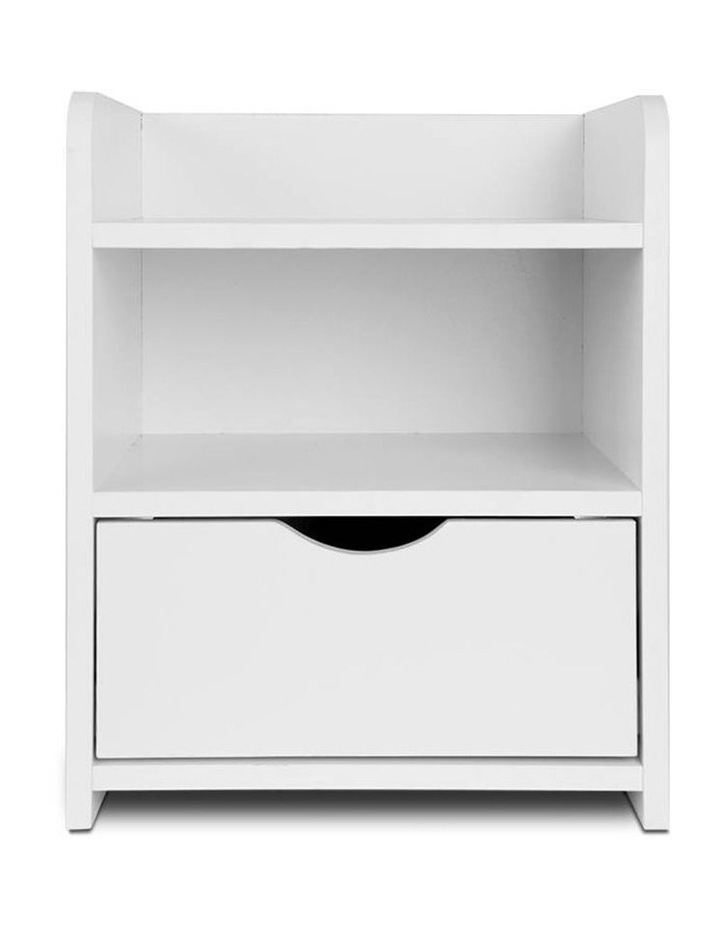 Artiss Bedside Table Drawer - White image 3