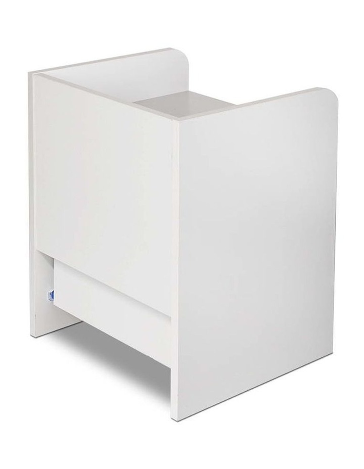 Artiss Bedside Table Drawer - White image 5