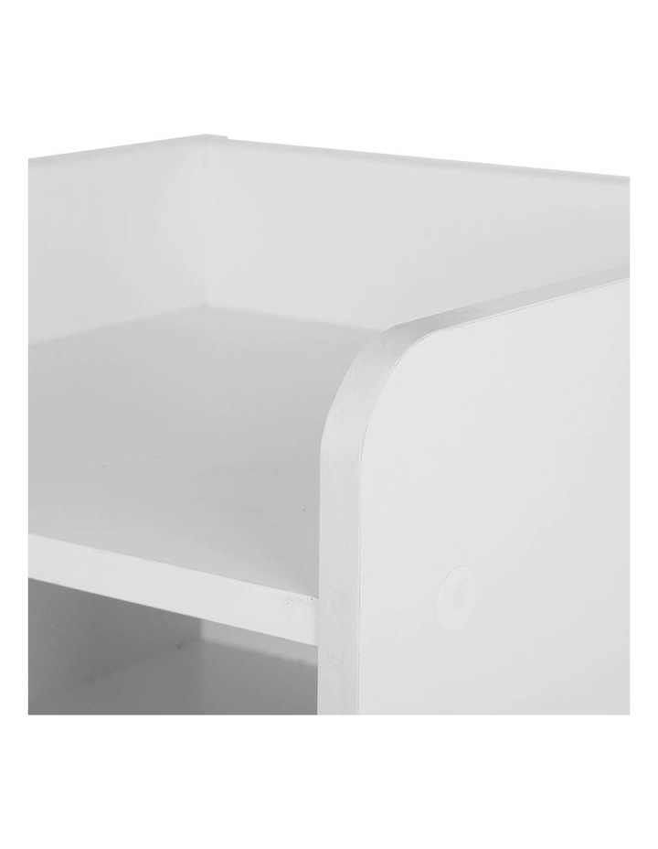 Artiss Bedside Table Drawer - White image 6