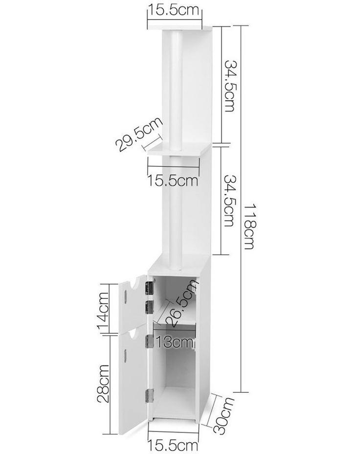Freestanding Bathroom Storage Cabinet image 2