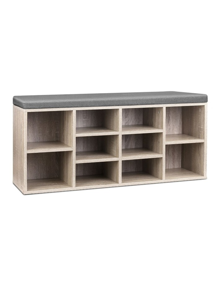 Wooden Shoe Cabinet Bench image 1