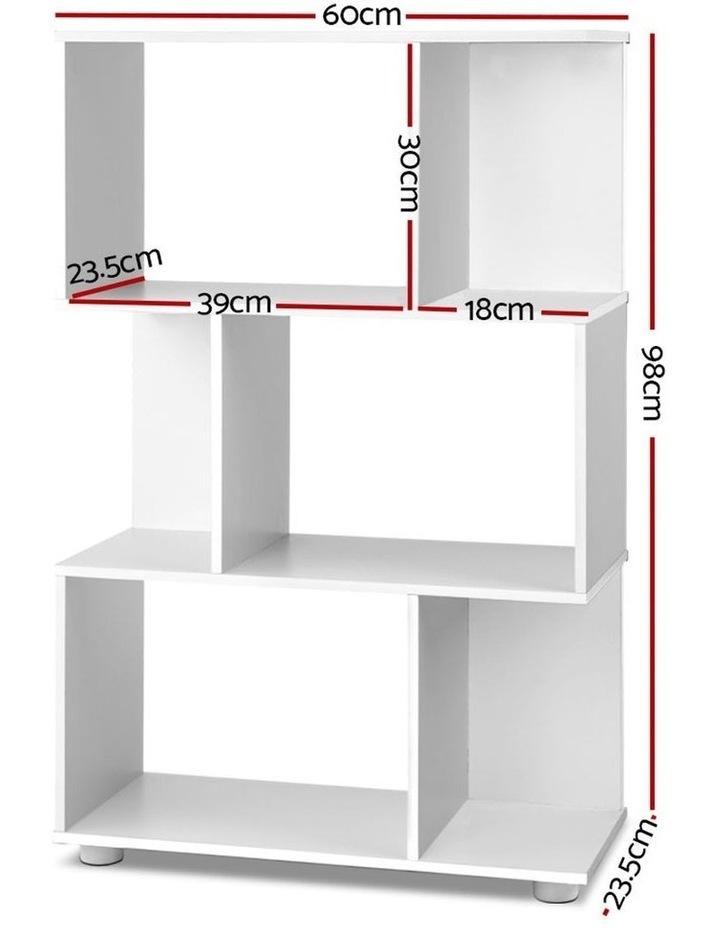 3 Tier Zig Zag Bookshelf image 2