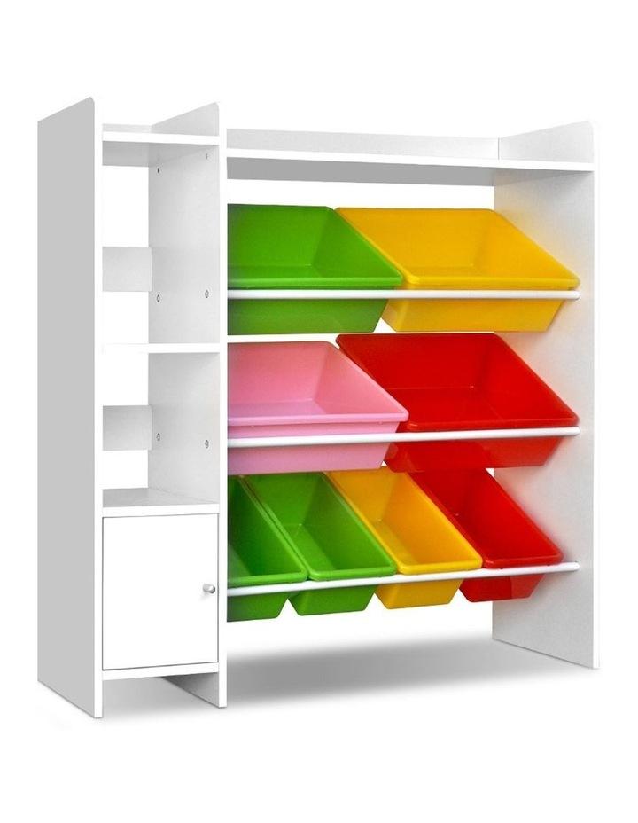 8 Bin Toy Storage Shelf image 1