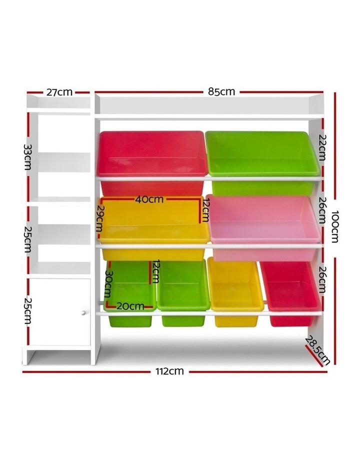 8 Bin Toy Storage Shelf image 2