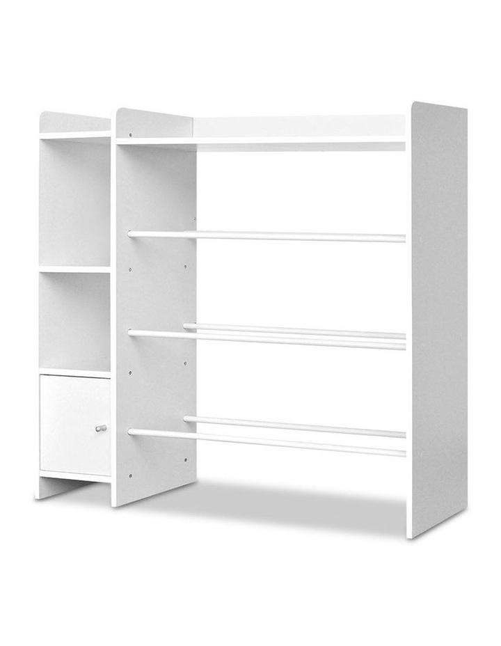 8 Bin Toy Storage Shelf image 4