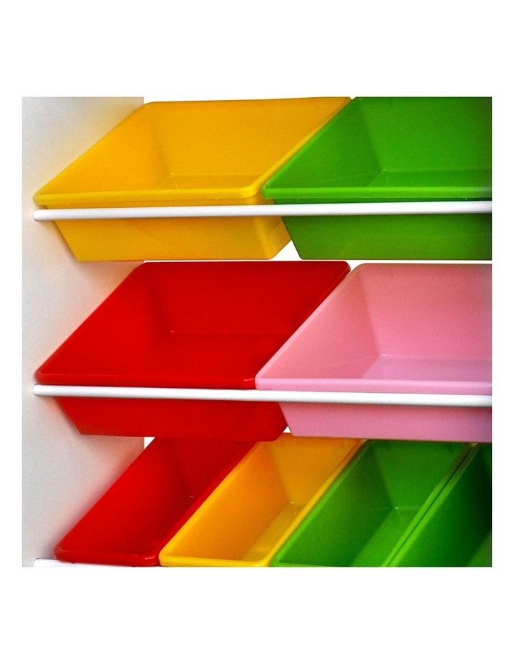 8 Bin Toy Storage Shelf image 5