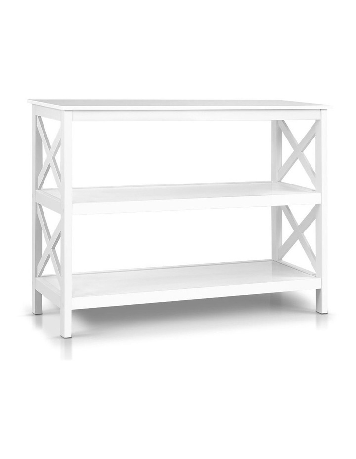 Wooden Storage Console Table image 1