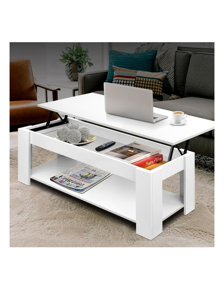 Lift Up Top Mechanical Coffee Table image 3