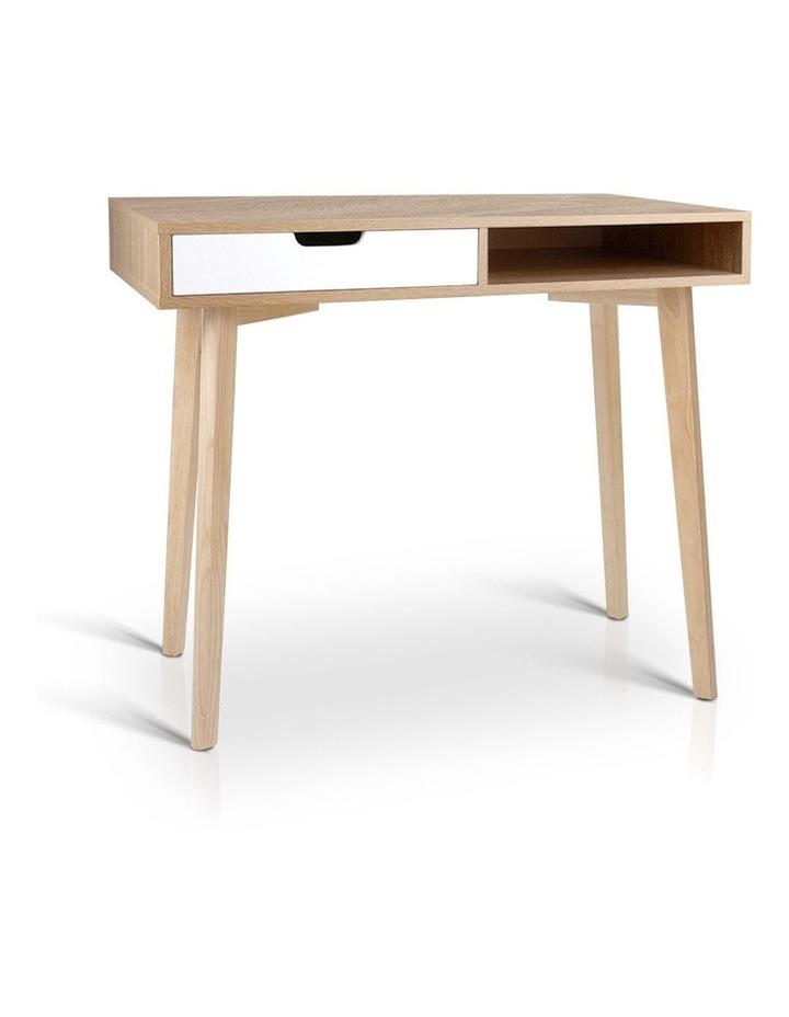 Artiss 2 Drawer Wood Computer Desk image 1