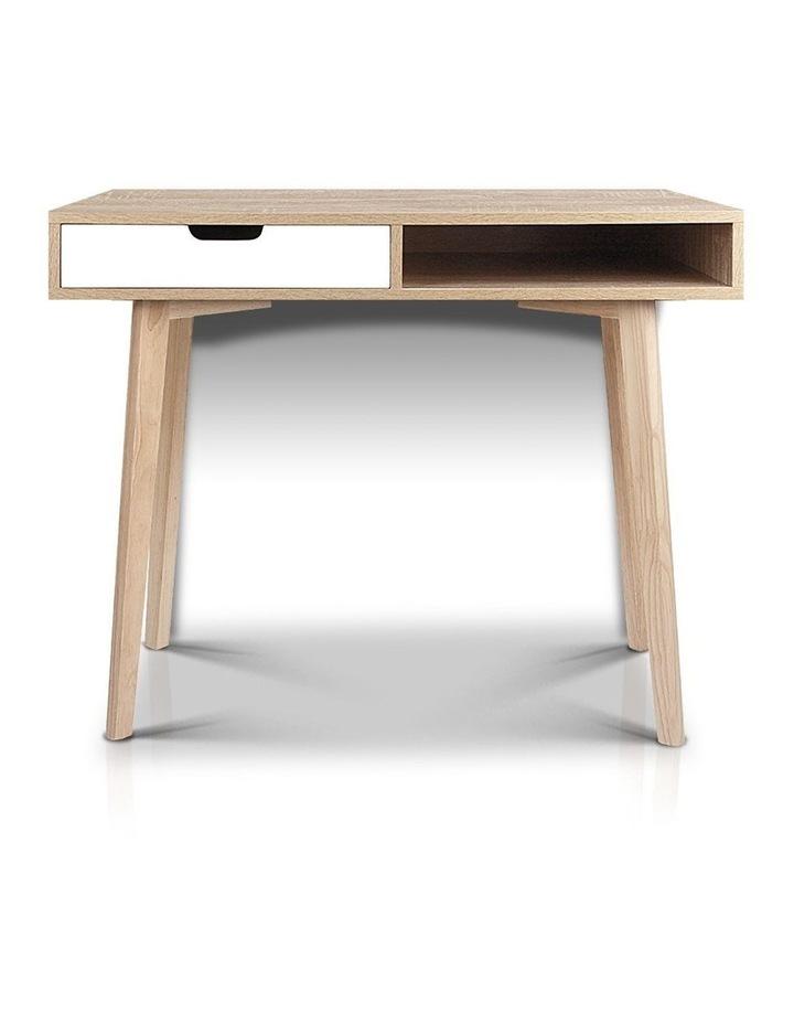 Artiss 2 Drawer Wood Computer Desk image 4