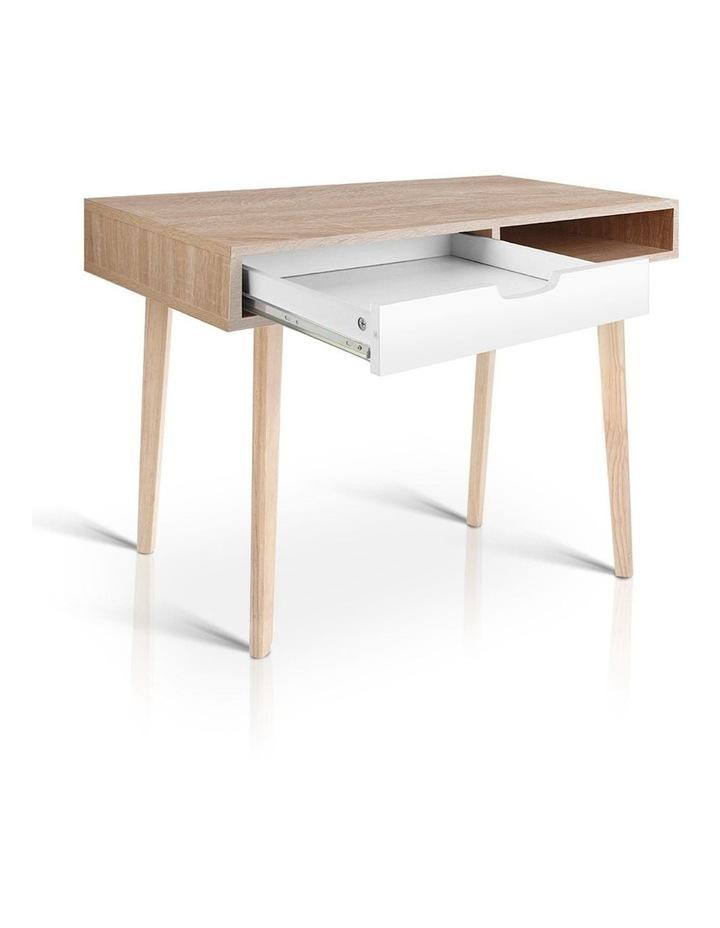 Artiss 2 Drawer Wood Computer Desk image 7