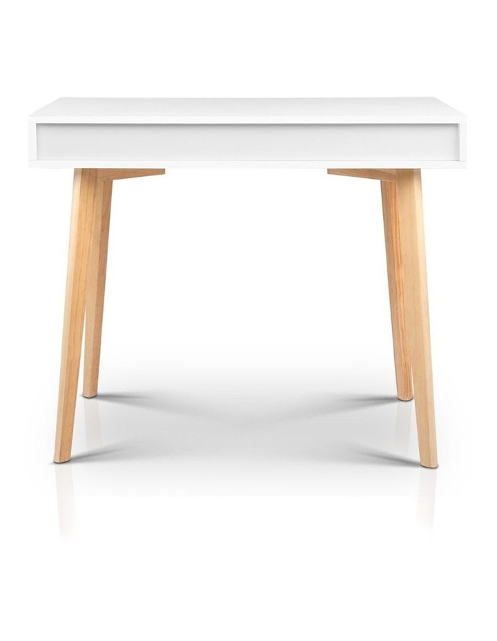Artiss Wood Computer Desk with Drawers - White image 6