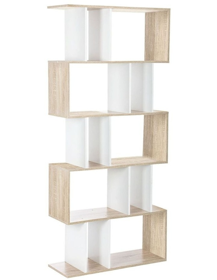 5 Tier Display Book Storage Shelf Unit image 1