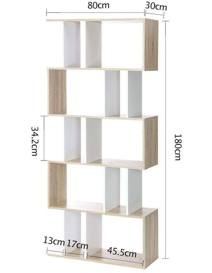 5 Tier Display Book Storage Shelf Unit image 2