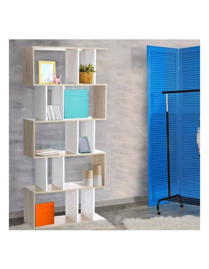 5 Tier Display Book Storage Shelf Unit image 3