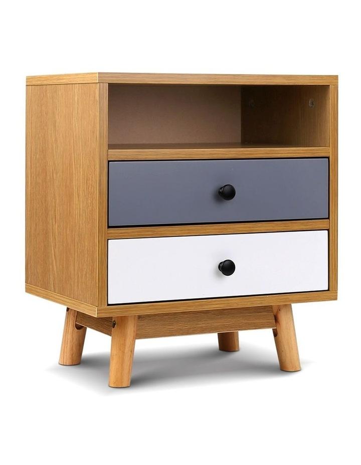 Artiss Wooden Beside Table image 1
