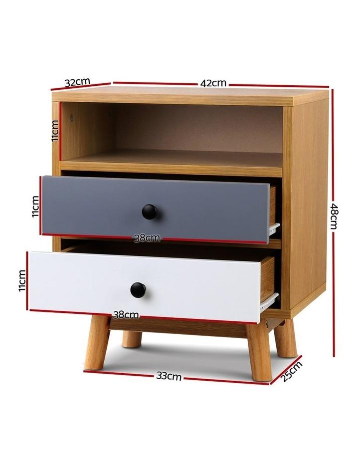 Artiss Wooden Beside Table image 2