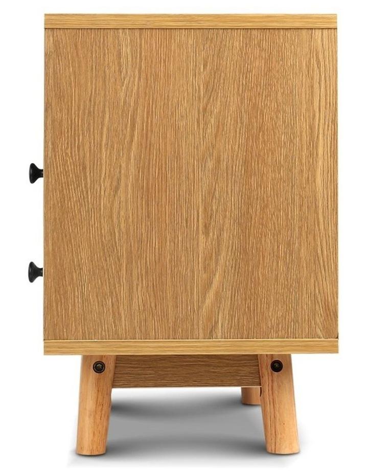 Artiss Wooden Beside Table image 5