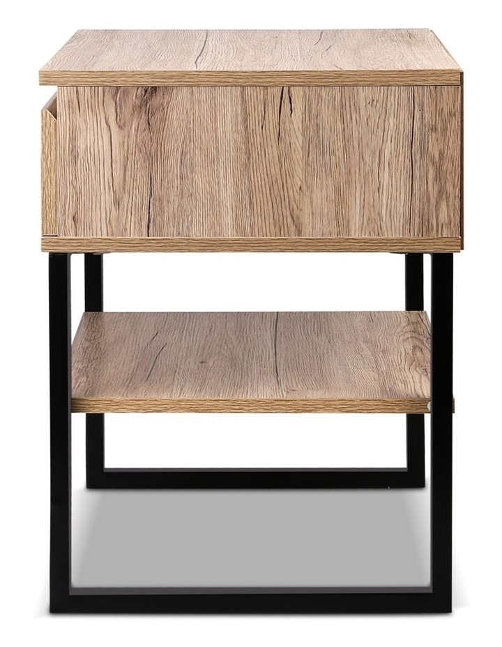 Chest Style Metal Bedside Table image 5