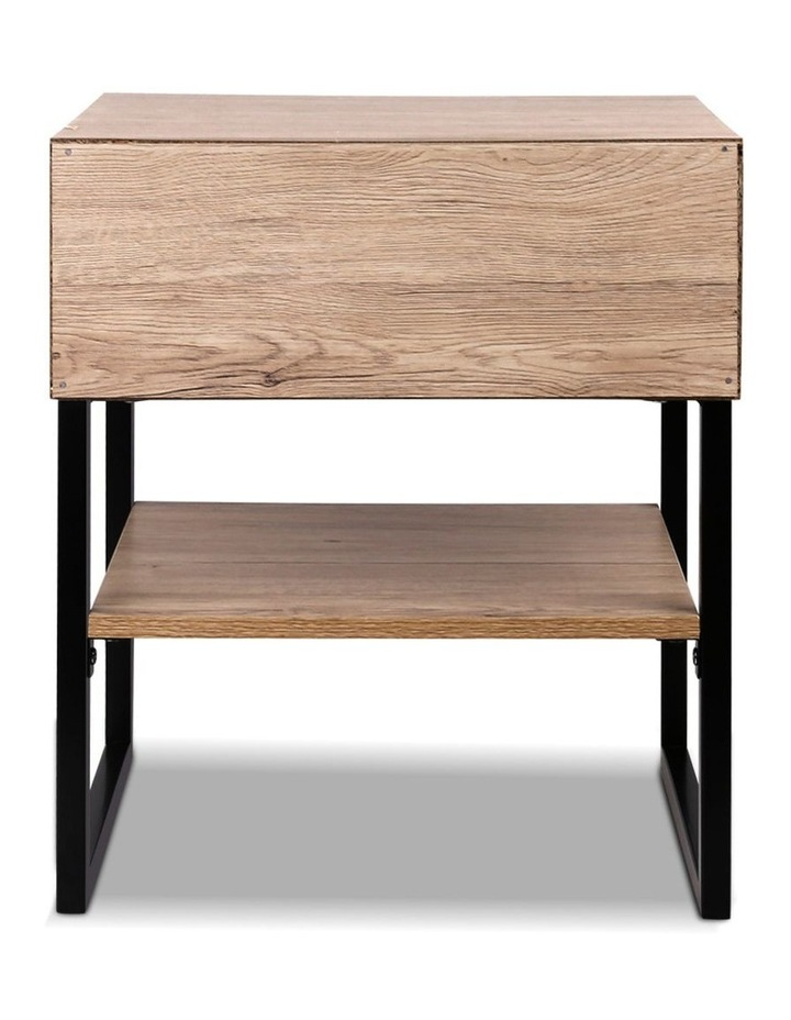 Chest Style Metal Bedside Table image 6