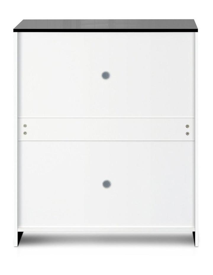 High Gloss Shoe Cabinet Rack image 6