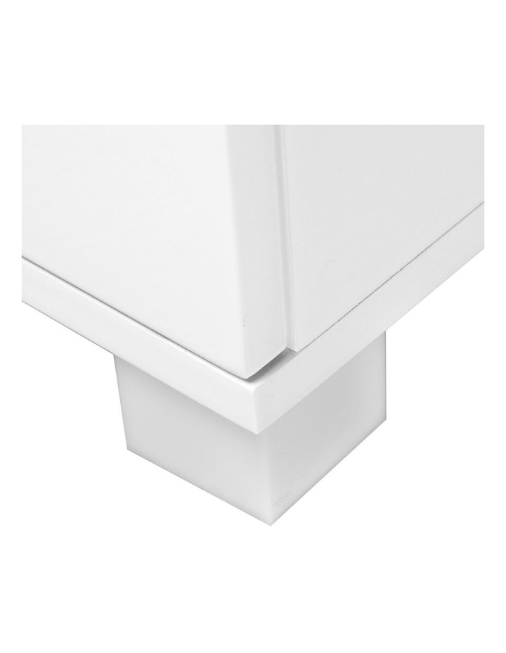 High Gloss Two Drawers Bedside Table image 6