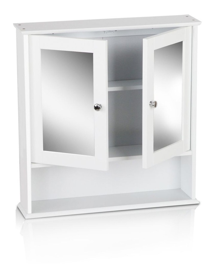 Bathroom Tallboy Storage Cabinet with Mirror image 5