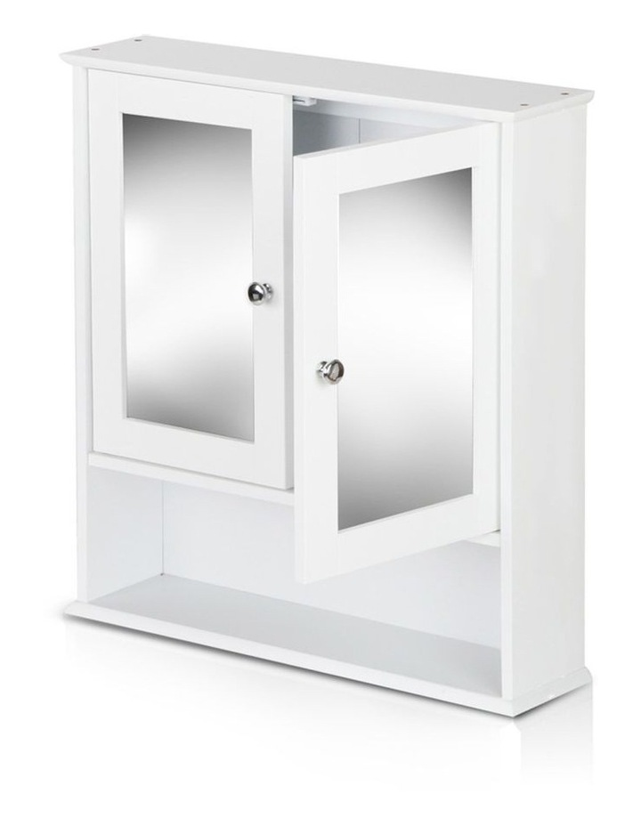 Bathroom Tallboy Storage Cabinet with Mirror image 6