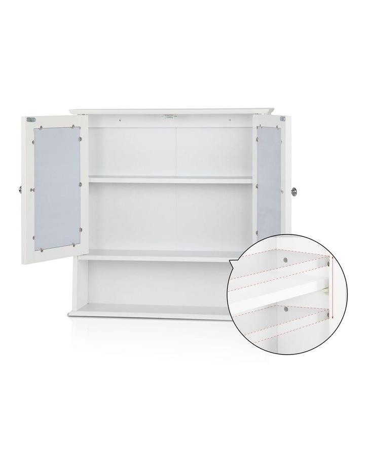 Bathroom Tallboy Storage Cabinet with Mirror image 7