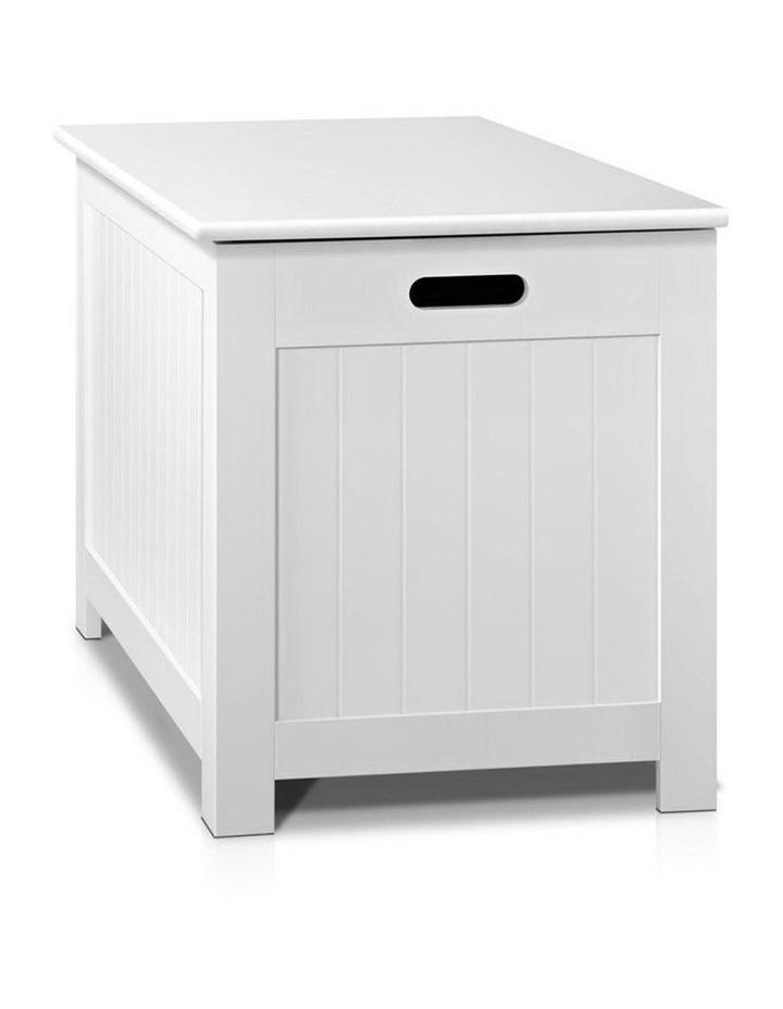 Keezi Kids Toy Box Storage Chest Cabinet Children Organiser White Container image 4