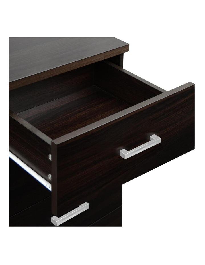 Artiss Tallboy 6 Drawers Storage Cabinet - Walnut image 6