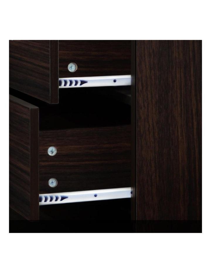 Artiss Tallboy 6 Drawers Storage Cabinet - Walnut image 7