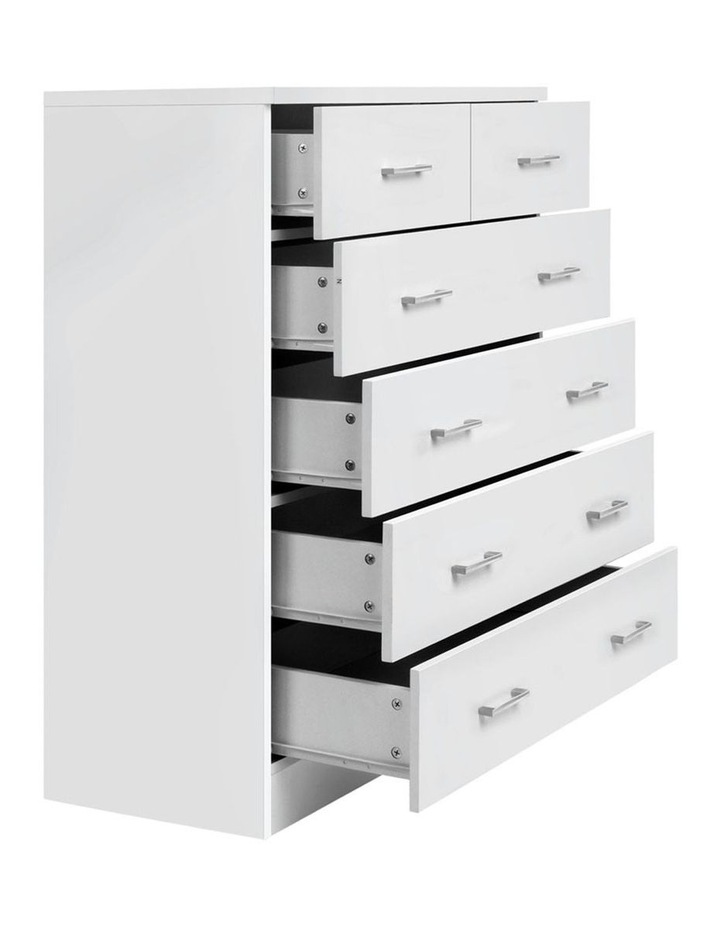 Tallboy 6 Drawers Storage Cabinet image 1