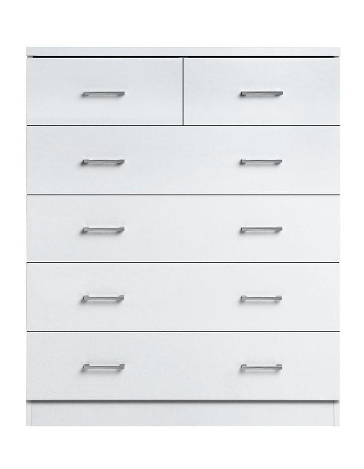 Tallboy 6 Drawers Storage Cabinet image 3