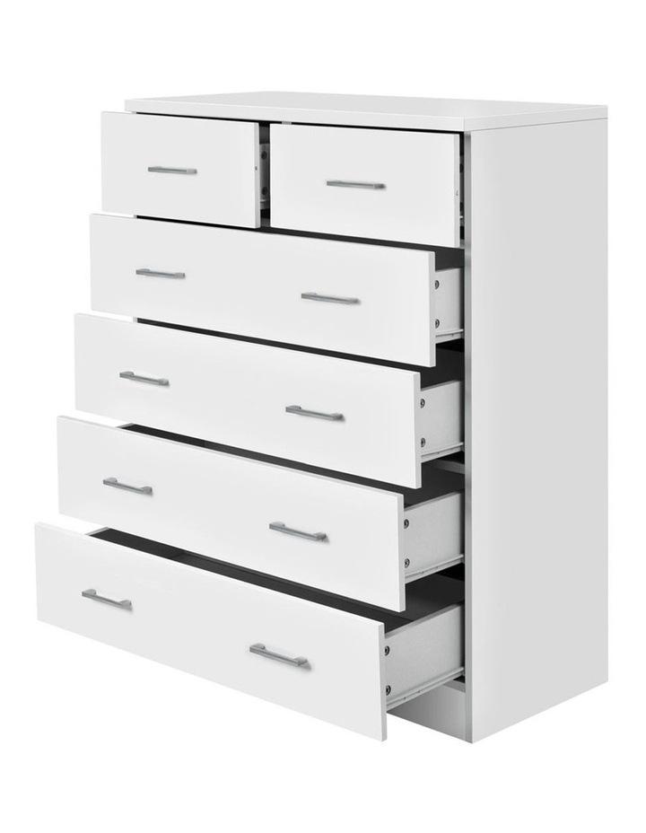 Tallboy 6 Drawers Storage Cabinet image 4